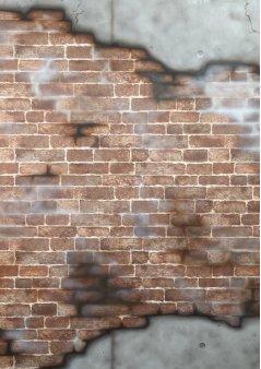 ブロック崩壊壁