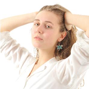 外国人モデル撮影サンプル
